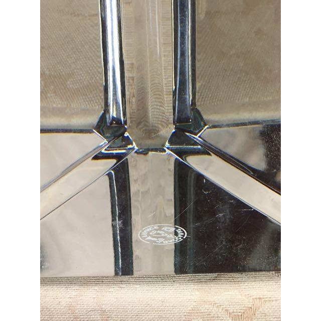"""Transparent Baccarat French 19"""" Crystal Obelisk For Sale - Image 8 of 11"""