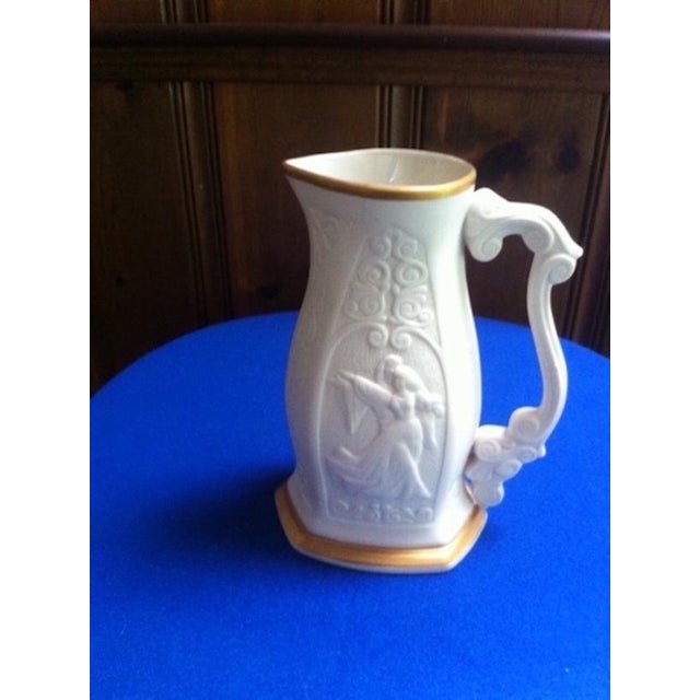 Mid-Century Limited Edition Lenox Porcelain Pitcher For Sale - Image 10 of 10