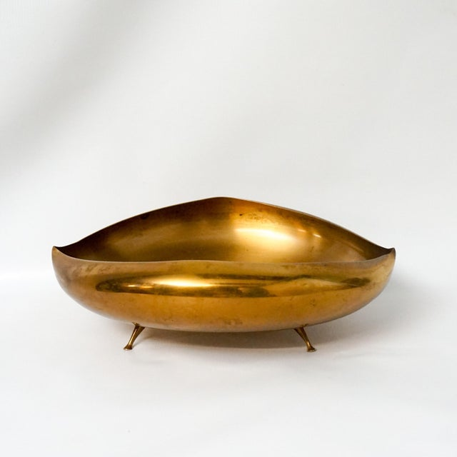 Bronze Saxton Bronze Anthropomorphic Footed Bowl For Sale - Image 7 of 7