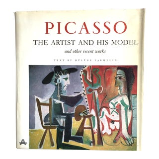 """1960s Vintage Pablo Picasso """"The Artist and His Model"""" Art Book For Sale"""
