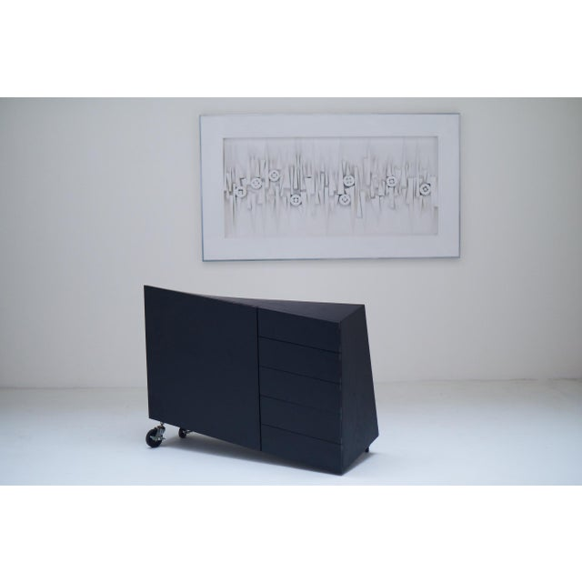 "1982 ""Wil Toro"" Cabinet by Mireille Rivier & Paolo Pallucco For Sale - Image 11 of 13"