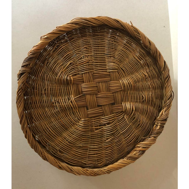Antique Basket With Handles For Sale In South Bend - Image 6 of 8