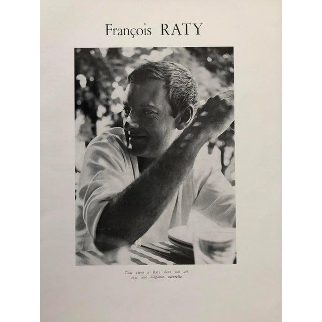 Francois RATY, France, c.1960's artist Printed Photo framed 13x17