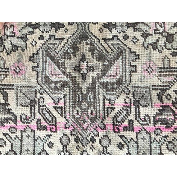 """Vintage Persian Area Rug - 6'5"""" x 9'3"""" - Image 6 of 11"""