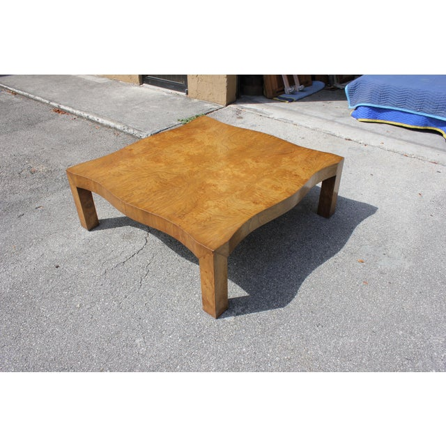 Cherry Wood 1970s Danish Modern Cherry Wood Coffee Table For Sale - Image 7 of 13