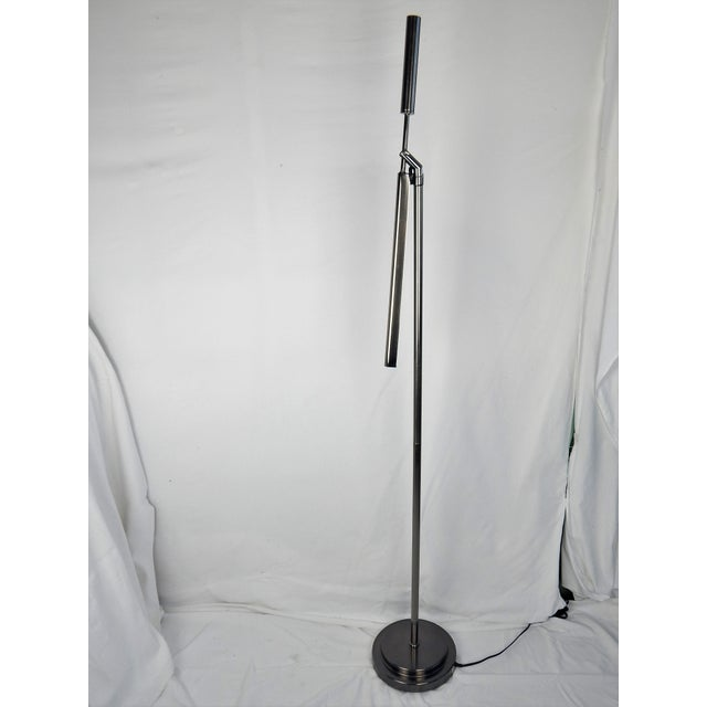 Brushed Chrome Fluorescent Floor Lamp For Sale In Orlando - Image 6 of 11
