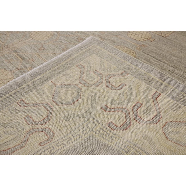 Early 21st Century Transitional Khotan Style Area Rug - 8'9 X 12'2 For Sale - Image 5 of 10