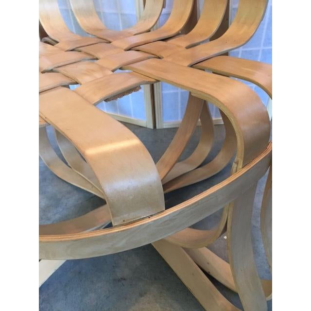 Frank Gehry for Knoll Modern Cross Check Chair For Sale - Image 5 of 11