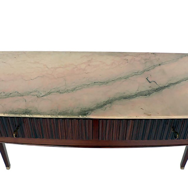 Modernist Italian Console For Sale - Image 4 of 5