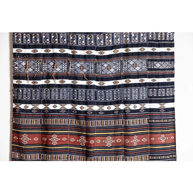 African Arkilla Kerka Fulani Wedding Blanket For Sale - Image 3 of 8