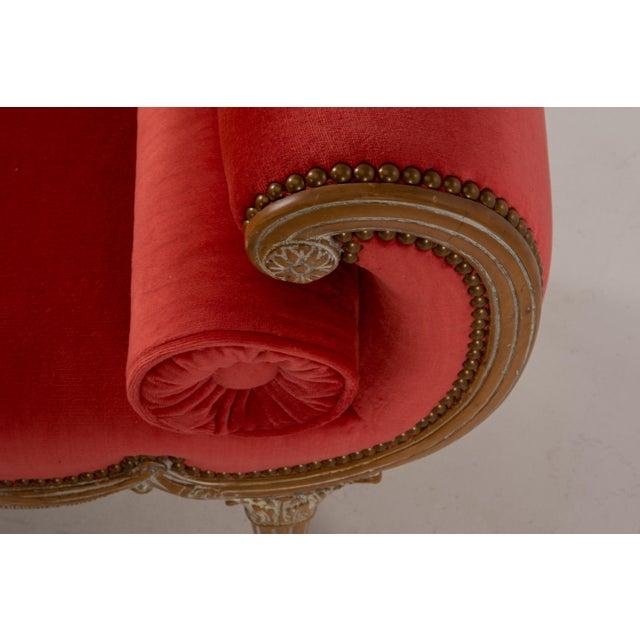 Antique Regency Neoclassical Klismos Saber Leg Bench For Sale - Image 12 of 13