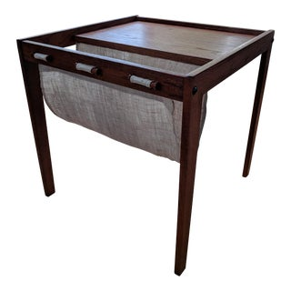 Brdr. Furbo Mid-Century Canvas Sling End-Table