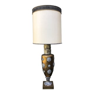 James Mont Style Hollywood Regency Italianate Table Lamp For Sale