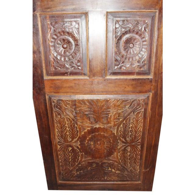 19th Century Vintage Rustic Wood Door For Sale - Image 4 of 7