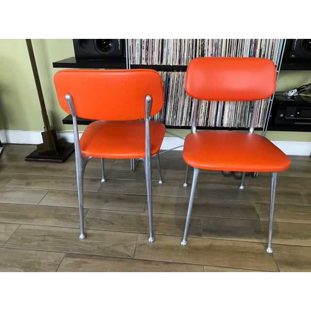 Pair of Gazelle Chairs - Newly Upholstered For Sale In Miami - Image 6 of 13