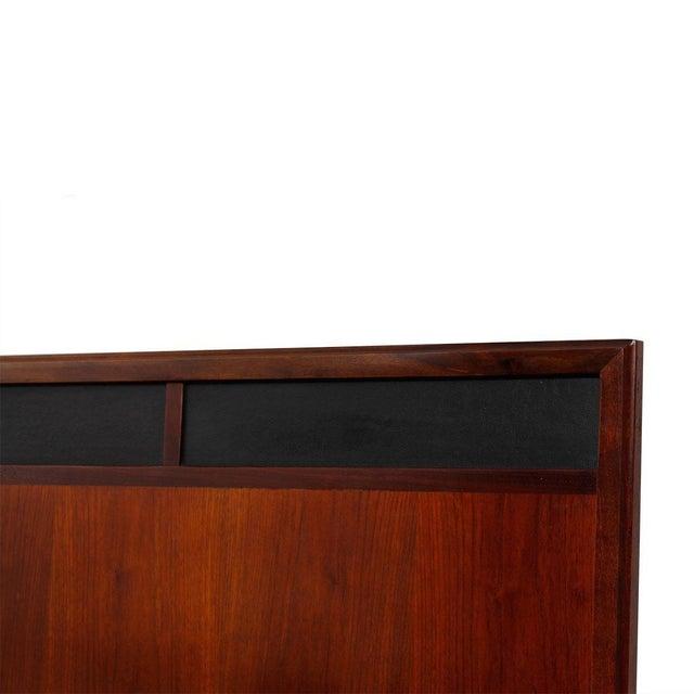 Mid Century Walnut 12-Drawer Dresser / Credenza - Image 8 of 9