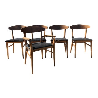 Danish Modern Dining Chairs - Set of 5