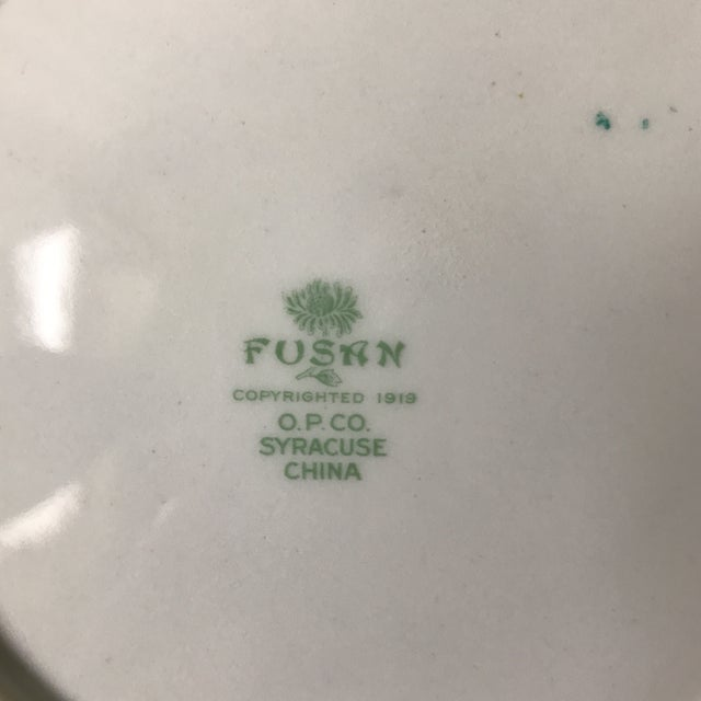 1919 Chinoiserie Dinner & Salad Plates - A Pair - Image 6 of 6