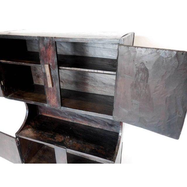 Primitive Antique Guatemalan Primitive Cabinet For Sale - Image 3 of 5