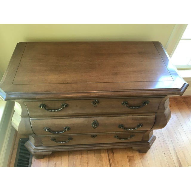 Century Furniture Fruitwood Bombe Chest For Sale - Image 9 of 10