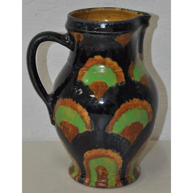 19th Century German Stoneware Hand Made Pitcher - Image 2 of 7