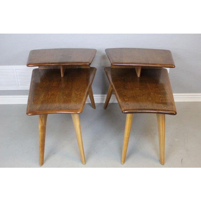Heywood-Wakefield End Tables - A Pair - Image 2 of 7