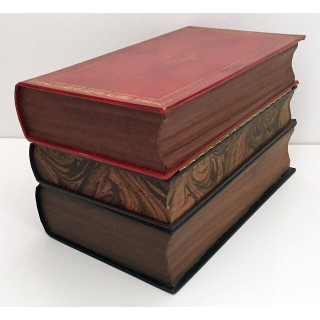 Glass Traditional Portable Book Bar For Sale - Image 7 of 9