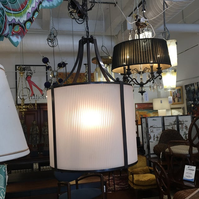 Contemporary j.h. Lighting & Brass Works Pendant For Sale - Image 3 of 11