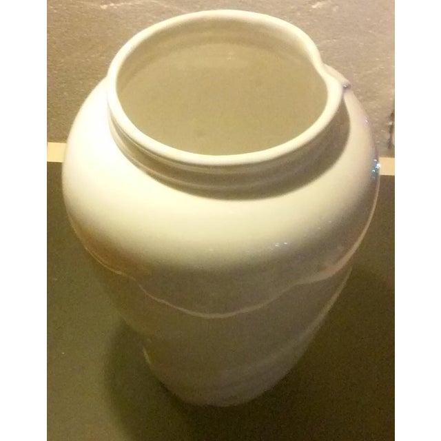 Vintage White Porcelain Vase - Image 3 of 5