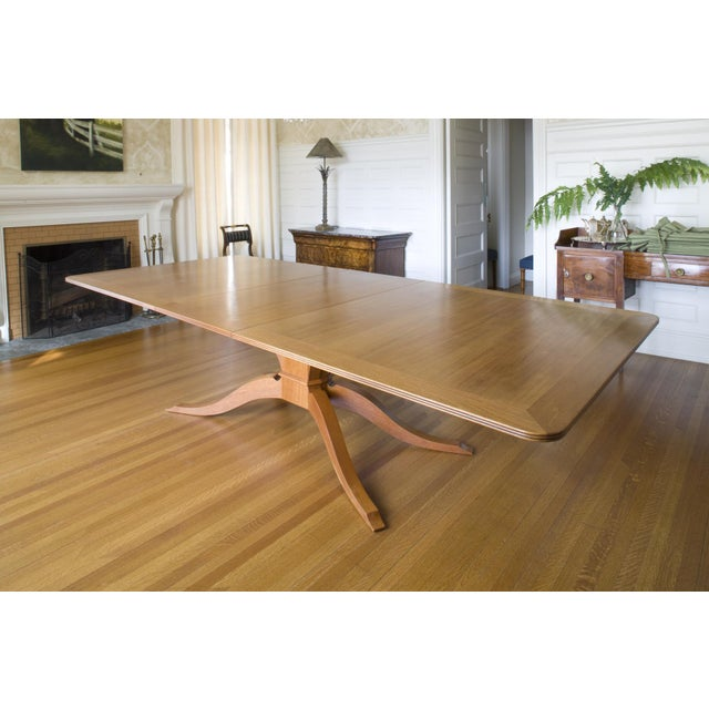 9-Piece Holly Hunt-Style Dining Set - Image 4 of 11