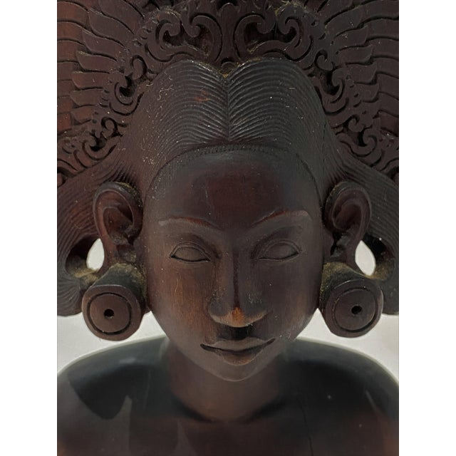 Vintage Balinese Carving For Sale - Image 10 of 13