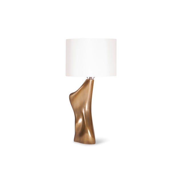 Abstract Amorph Helen Table Lamp, Gold Finish For Sale - Image 3 of 9