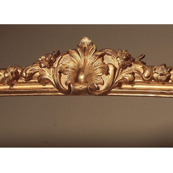 French Painted and Giltwood Cornice - Image 5 of 7