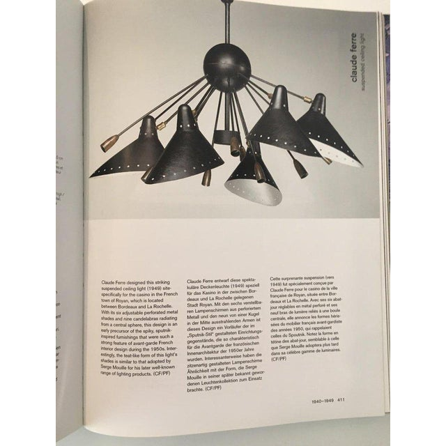 Rare & Documented Claude Ferré Chandelier for the Casino De Royan, France, 1949 For Sale - Image 12 of 12