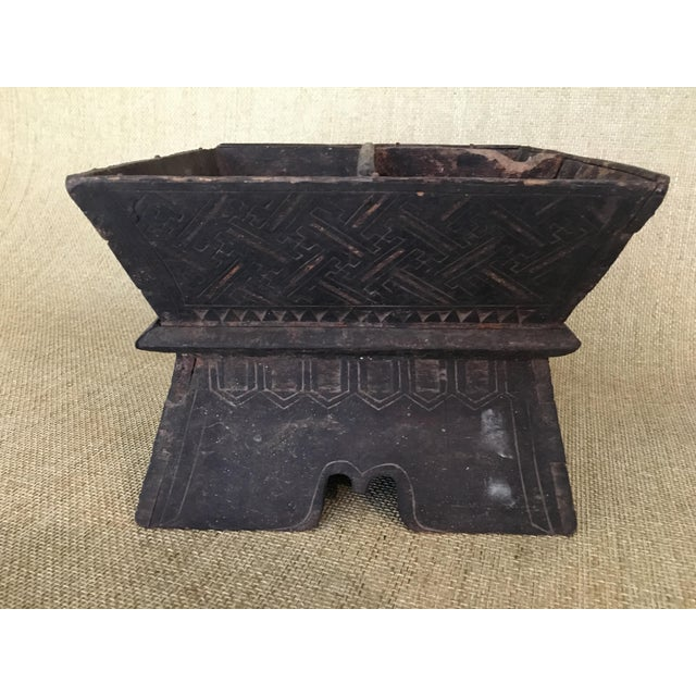 Early 20th Century Traditional Decorated Wood Box For Sale - Image 11 of 11