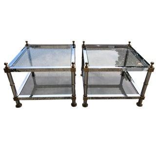 Maison Jansen Style Side Tables - A Pair