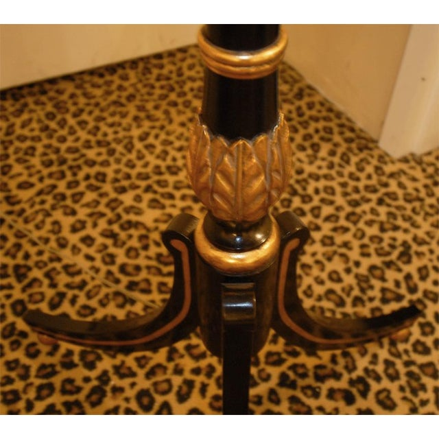 Hand-Painted Lacquer Floor Lamp - Image 6 of 6
