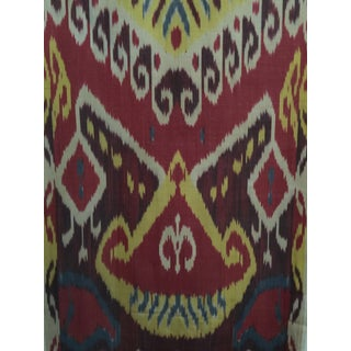 Silk Ikat Fabric For Sale