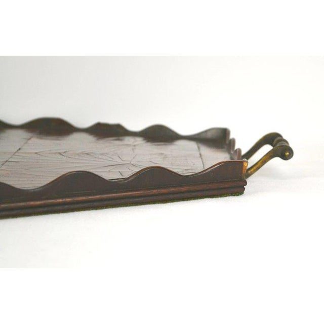 Oyster Veneer Tray For Sale - Image 12 of 13