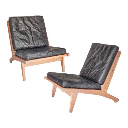 Pair of Hans Wegner Chairs - Image 1 of 9