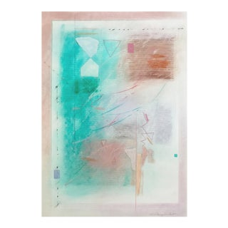 Abstract Pastel & Collage, Sherry Schrut For Sale