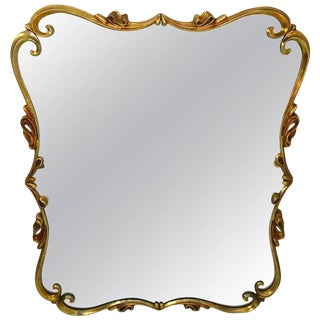 Decorative Metal Frame Mirror For Sale