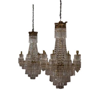 Pair of French Chandeliers For Sale
