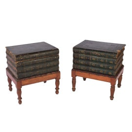 Image of English Traditional Side Tables