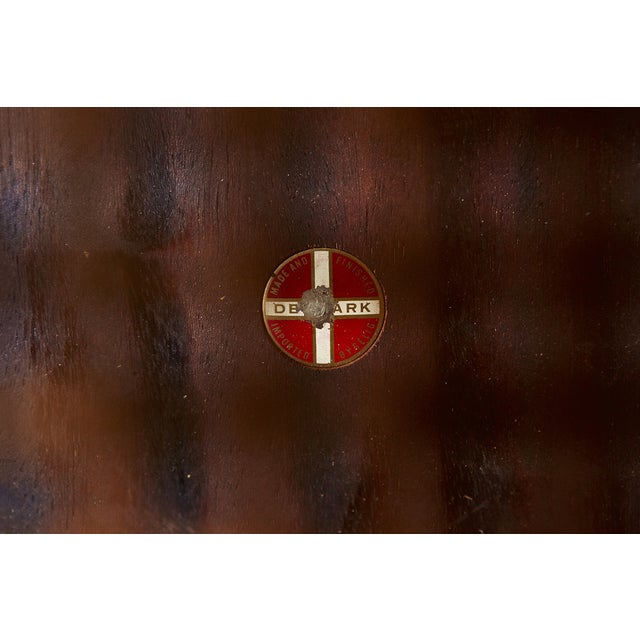 Poul Jensen Rosewood & Cane Side Table - Image 7 of 7