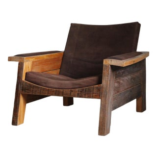 "Carlos Motta Brazillian ""Braz"" Lounge Chair For Sale"