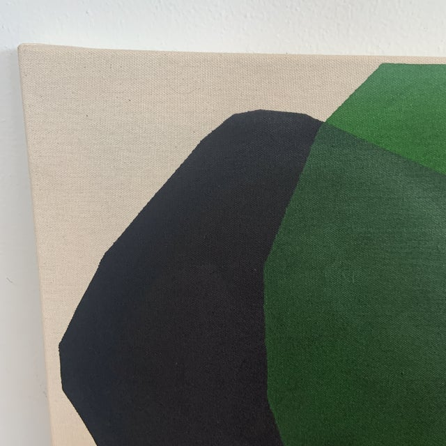 Original acrylic painting by Ross Severson. Minimal abstract painting on raw stretched canvas. Painted in 2021.Ross...