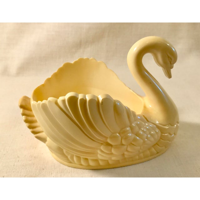 Mid-Century Bakelite Swan Catch-All For Sale - Image 4 of 8