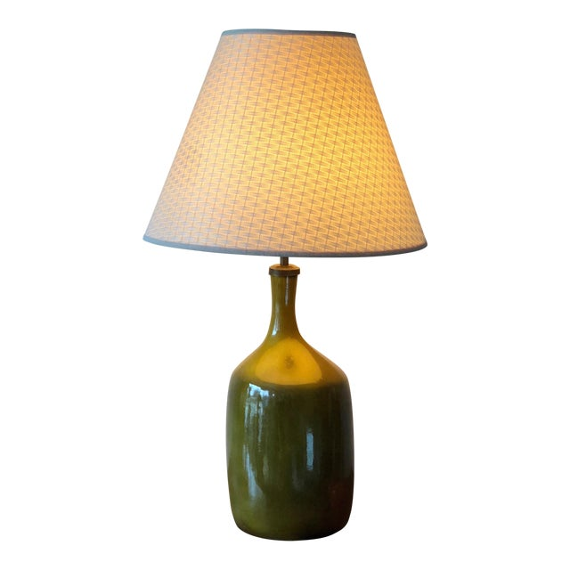 1960s Vintage Jacques & Dani Ruelland Ceramic Lamp For Sale - Image 12 of 12