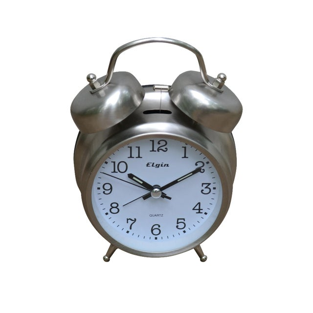 Elgin Twin Bell Alarm Clock - Image 1 of 3